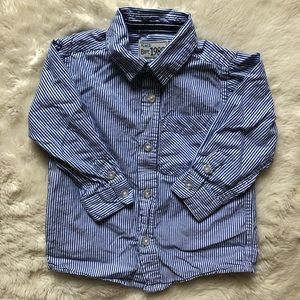 Children's Place Button Down Shirt 24M